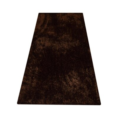 Sanford Solid Hand Tufted Brown Area Rug