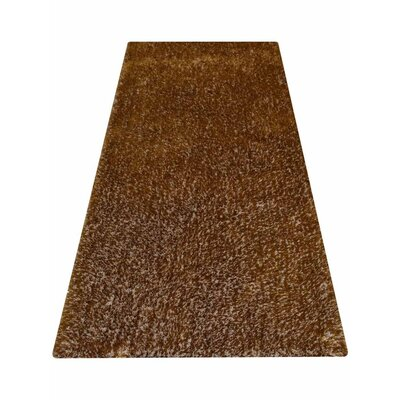 Sanford Solid Hand Tufted Honey Area Rug