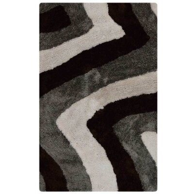 Ry Hand Tufted BrownGrey Area Rug