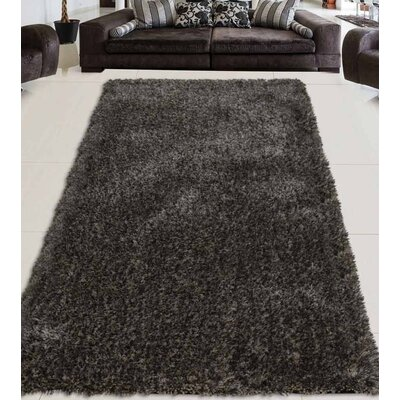 Sanford Solid Hand Tufted Gray Area Rug Rug Size: Runner 2 6 x 10