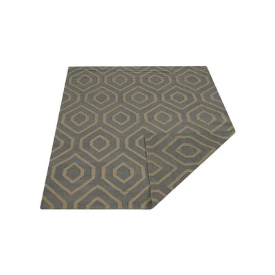 Ry Hand-Knotted Wool Gray/Ivory Area Rug
