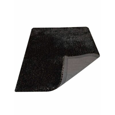 Ry Hand Tufted SilverBlack Area Rug Rug Size: 6 x 9