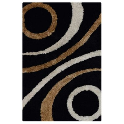 Ry Hand Tufted Black Area Rug