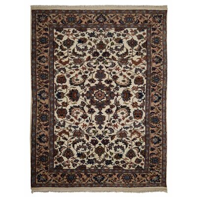 Shephard Hand-Woven Wool Cream Area Rug Rug Size: Rectangle 8 x 113