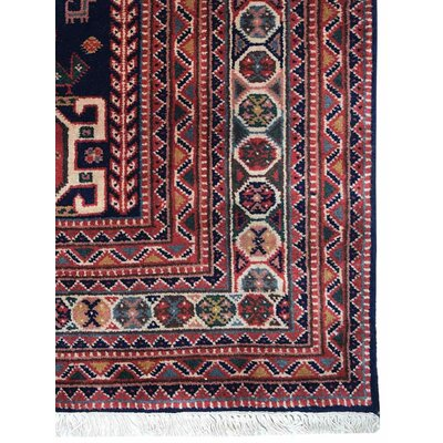 Shephard Hand-Knotted Wool Rust Area Rug