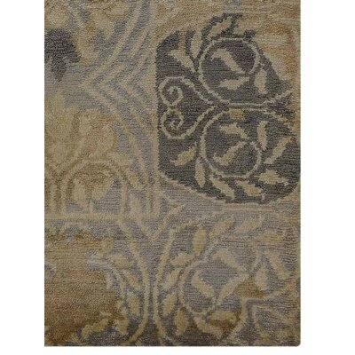 Ry Parsa Hand Knotted Wool Cream Area Rug