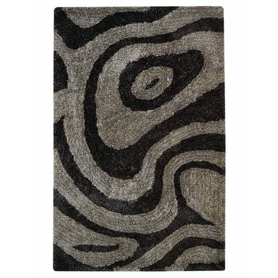 Ry Hand-Tufted Gray/White Indoor/Outdoor Area Rug