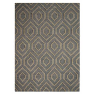 Zeiger Hand-Tufted Brown Area Rug Rug Size: 9 x 12