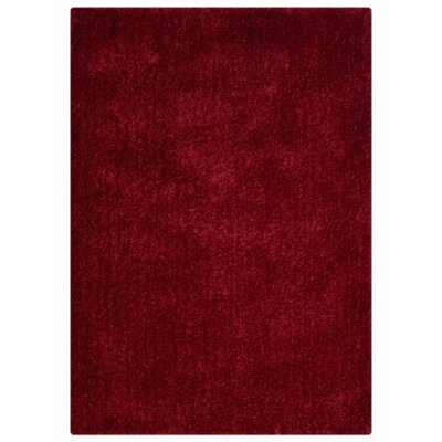 Ry Hand Knotted Loom Wool Rusty Red Area Rug