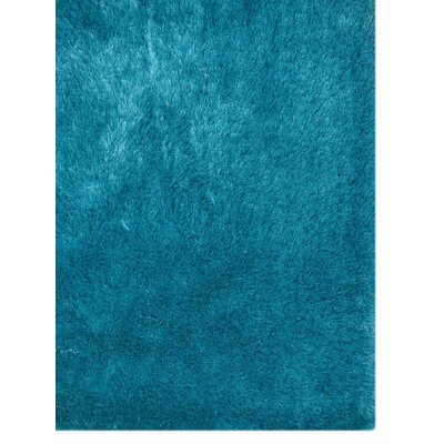 Ry Hand Tufted Rectangle Blue Area Rug Rug Size: 8 x 10