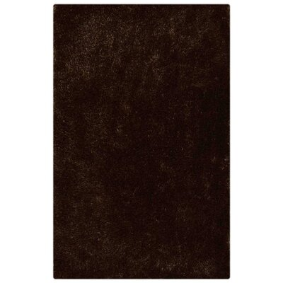 Ry Hand Tufted Brown Area Rug Rug Size: 8 x 10