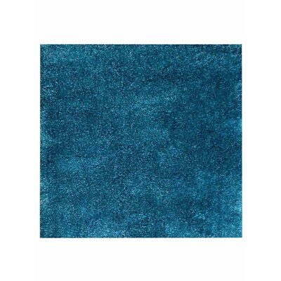 Ry Hand-Tufted Aqua Indoor/Outdoor Area Rug Rug Size: Square 8
