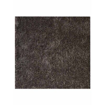 Sanford Solid Hand-Woven Brown Area Rug Rug Size: Square 8
