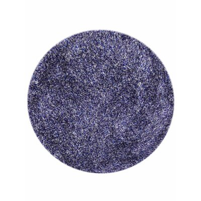 Ry Hand-Woven Blue Indoor/Outdoor Area Rug Rug Size: Round 8