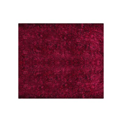 Ry Hand Tufted VioletBlack Area Rug Rug Size: Square 8