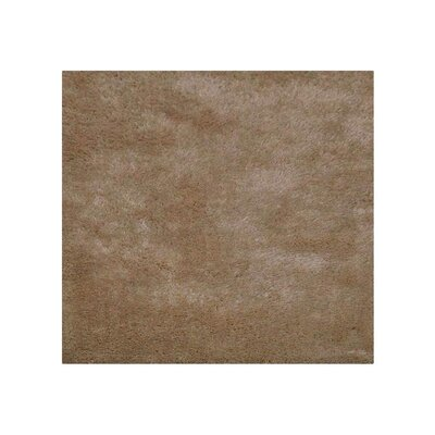 Sanford Solid Hand-Woven Ivory Area Rug Rug Size: Square�8