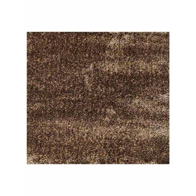 Stiner Hand Tufted Solid Beige/Brown Area Rug