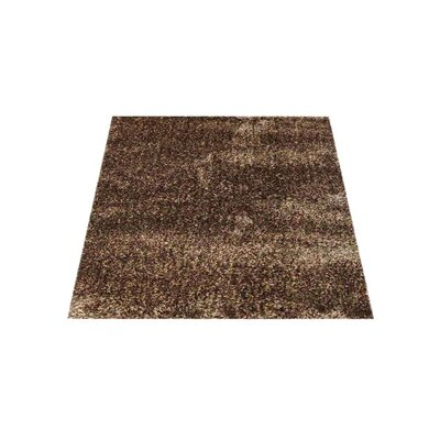Stiner Hand-Woven Solid Beige/Brown Area Rug Rug Size: Square�8