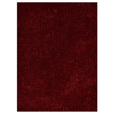 Kerin Hand Tufted Red/Black Area Rug Rug Size: Rectangle 5 x 8
