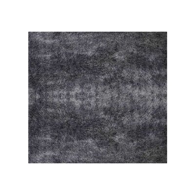 Amin Hand Tufted Gray Area Rug Rug Size: Square 8 x 8