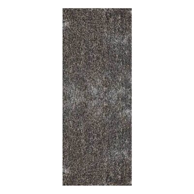 Amin Hand Tufted Gray Area Rug Rug Size: Runner 26 x 8