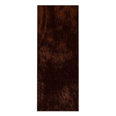 Amezcua Hand Tufted Brown/Black Area Rug Rug Size: Runner 26 x 8
