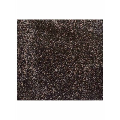 Amico Hand Tufted Black/Silver Area Rug Rug Size: Square 10 x 10