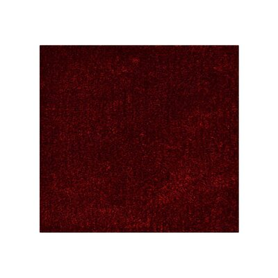 Kerin Hand Tufted Red/Black Area Rug Rug Size: Square 8 x 8