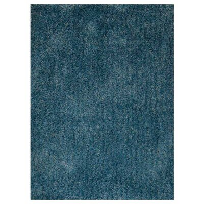 Sanford Solid Hand-Woven Firoza Area Rug Rug Size: Rectangle�8 x 10
