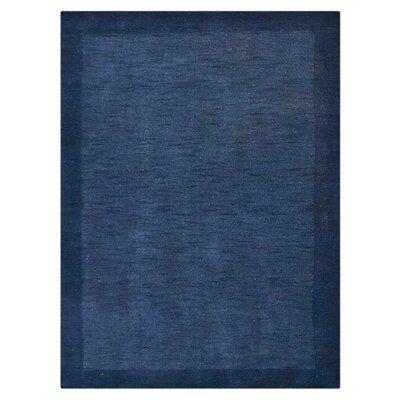 Davia Hand-Knotted Wool Light Blue/Blue Area Rug