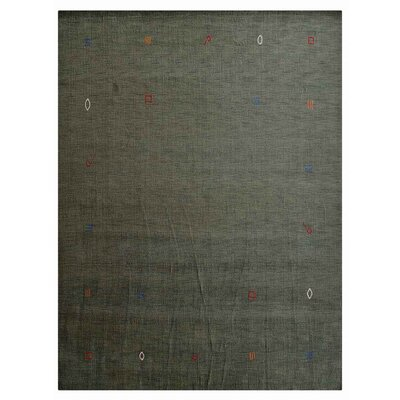 Claysburg Hand-Woven Wool Green Area Rug Rug Size: Rectangle 57 x 710