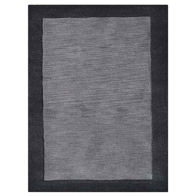 Weiqi Hand-Tufted Charcoal Area Rug