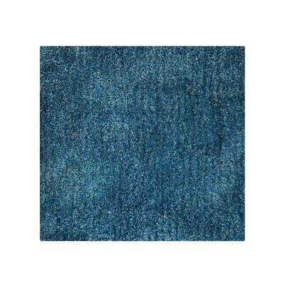 Caree Hand-Tufted Blue Area Rug