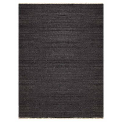 Corte Madera Hand-Woven Charcoal Area Rug Rug Size: Rectangle�4 x 6
