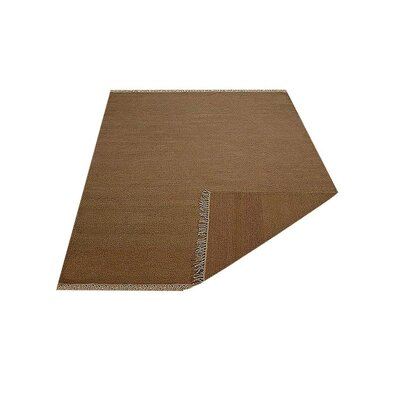 Corto Hand-Woven Cream Area Rug Rug Size: Rectangle�10 x 14