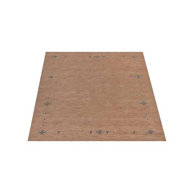 Cope Hand-Woven Wool Beige Area Rug Rug Size: Rectangle 9 x 12