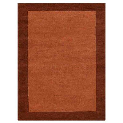 Katha Hand-Tufted Orange Area Rug