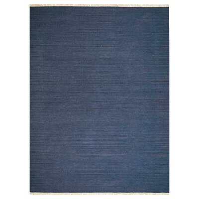 Andover Hand-Woven Blue Area Rug Rug Size: Rectangle�4 x 6