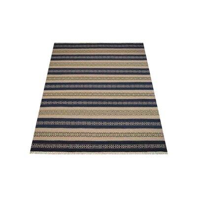 Melbourne Hand-Woven Aqua/Cream Area Rug Rug Size: Rectangle�10 x 13