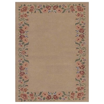 Mariya Floral Hand-Tufted Cream Area Rug