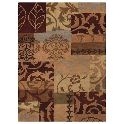 Chelsea Floral Hand-Tufted Brown/Beige Area Rug