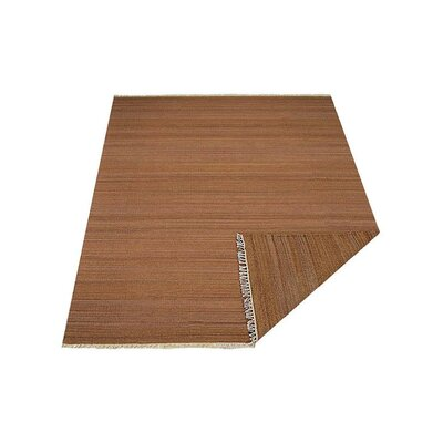 Cotati Hand-Woven Light Brown Area Rug Rug Size: Rectangle�3' x 5'