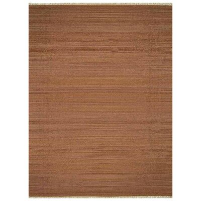 Cotati Hand-Woven Light Brown Area Rug Rug Size: Rectangle�4 x 6