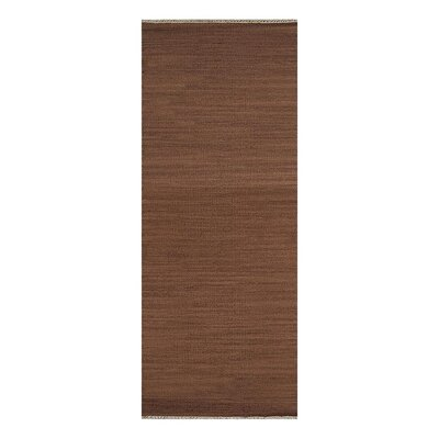 Cotati Hand-Woven Light Brown Area Rug Rug Size: Runner 26 x 6