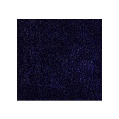 Sharadan Hand-Tufted Blue Area Rug Rug Size: Square 8 x 8