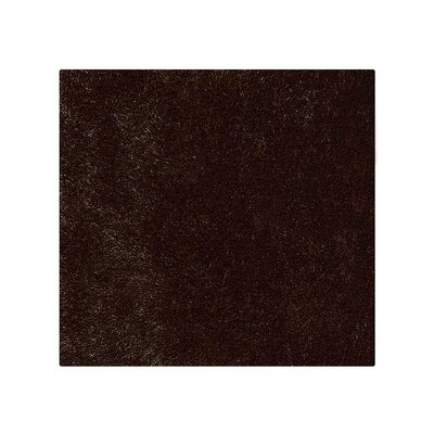 Abinash Hand-Tufted Brown Area Rug Rug Size: Square 8 x 8