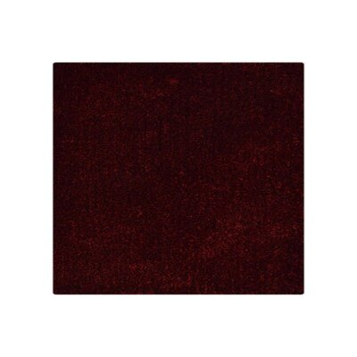 T.J. Hand-Tufted Red Area Rug Rug Size: Square 10 x 10