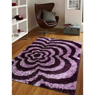 Gullo Floral Hand-Tufted Pink Area Rug