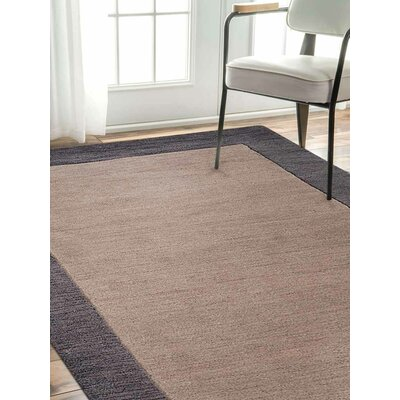 Manns Hand-Woven Light Brown Area Rug