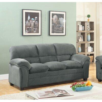 Mikaela Chenille Sofa Upholstery: Hazel